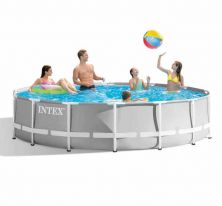 Каркасный бассейн Intex Prism Frame Pool 366x99 см 26716